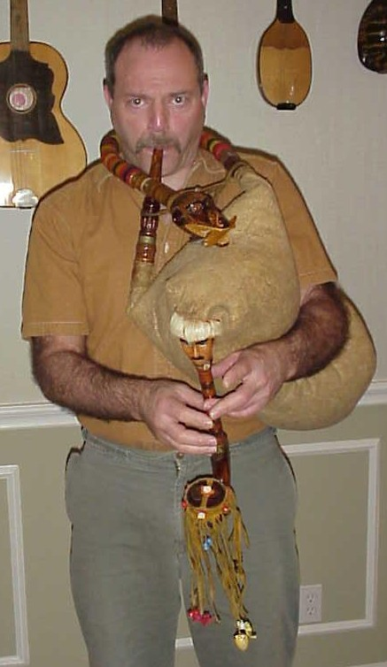 Bagpipe from east Serbia